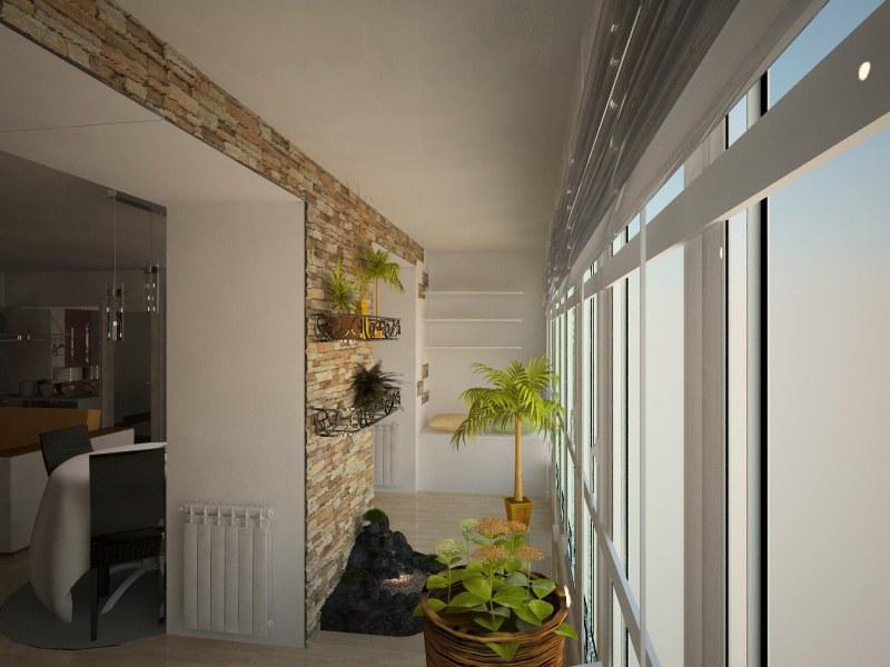 Кухня, совмещенная с балконом: как оформить пространство.